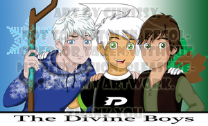 Danny, Jack, and Hiccup by DivineSpiritual