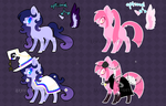 CLOSED POINT AUCTION - Witch Mares by Arxielle