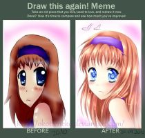 Draw this again! Meme by OkotteNeko