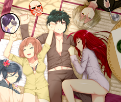 Overlord at Sleep-Over!! by Hews-HacK