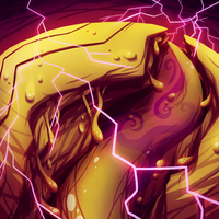 Land of Gold and Lightning by GreenMangos