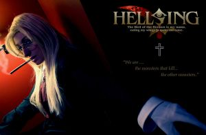 Sir Integra Hellsing Wallpaper by GingerAnneLondon