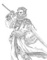 Auron from FFX by dharma-dvg