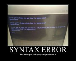Poster - SYNTAX ERROR by E-n-S