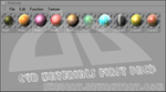 C4D Materials Pack One by SheDArT