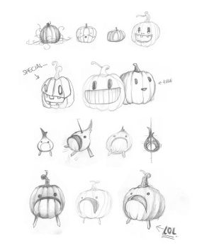 The Evolution of Pumpkion by Simanion