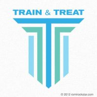 Train and Treat Logo by romirockstar