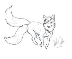 :Krosfox Sketches: Willow by BuryTheMaid