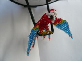 Yvette the Bead Parrot by moondagger52