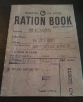Ration book menu by demonlucy