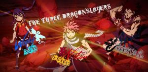 The Three DragonSlayers by GoldenDragonSlayer