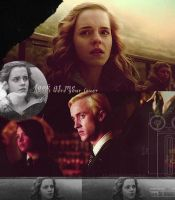 Dramione by blackcatme