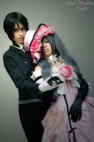 Sebastian Michaelis and Ciel Phantomhive by YoukaiYuurei