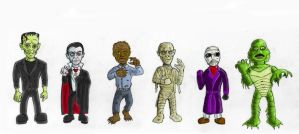 Ickle Universal Horror Icons by Cybopath