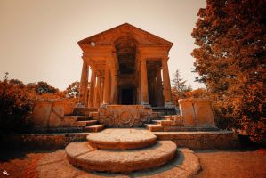 Temple of damnation by FraterOrion
