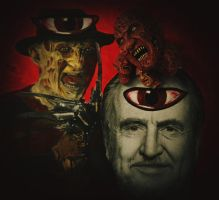 Wes Craven on Elm Street by JanneLawless