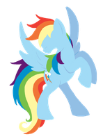 Rainbow Dash by CuTTyCommando