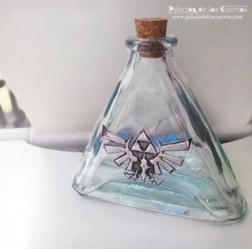 Bottle of Zelda by Nexogure