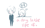 a day in the life by xuiei