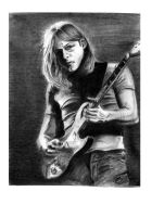 David Gilmour by The-OXette