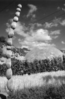 Eden Project Dome BnW 2 by drr104