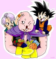 Buu Says No by Gosha-Chan