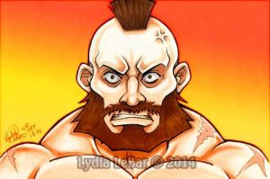 Street Fighter- I AM ZANGIEF! by Lilly-Lamb