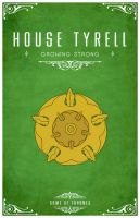 House Tyrell by LiquidSoulDesign
