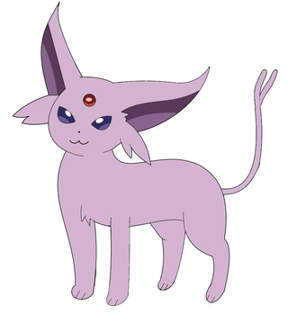Espeon by SweetyPoke