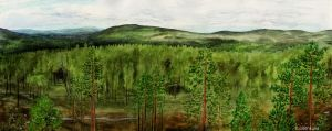Forests of Autti by Tuonenkalla