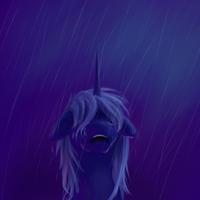 Crying Luna by Sokolas
