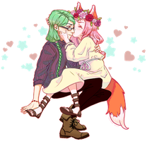 [Request] Lianna and Luciano for Chibii-Chii by Syuna88
