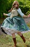 Princess Anna is dancing by Marybellla