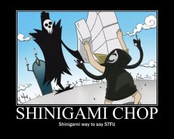 Shinigami Chop motivational by ss2shadic