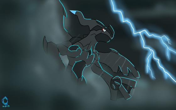 The Electric Dragon by GDTrekkie