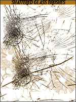 Shattered Glass Brushes by lvlach-lvlode