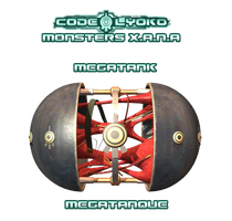 Monsters X.A.N.A Megatank Megatanque by XMarcoXfansubs