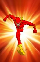 The Flash by drawerofdrawings