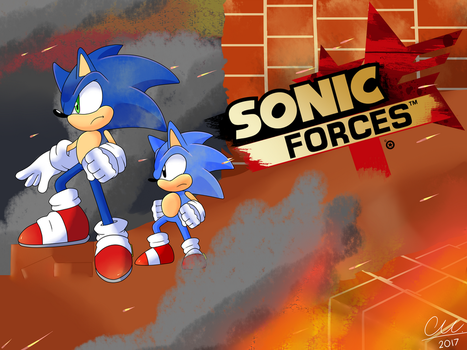Sonic Forces by blackburn789