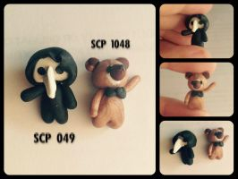 Polymer clay SCP 049 and 1048 by AlphaChoconess95