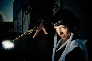Soi Fon - Death in Two Strikes by akatsuki-no-yumiko