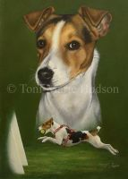 Fizz - Parsons JRT portrait. by Canis-Lupess