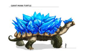 Giant Mana Turtle by pin100