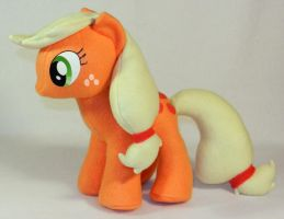 Applejack Plush 2: MLP by MandyNeko