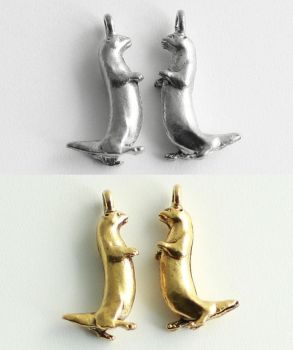 Otter Charms by MonsterBrandCrafts