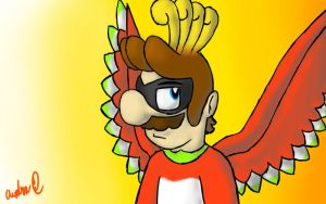 Ho-Oh Mario by Ask-Minish-Scarlet
