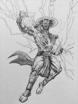 Raiden pencils by JoseFernandezUC