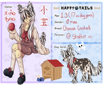 {Happy Tails} Xiao Bao by Y0KAI