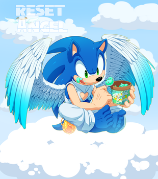 Commission: Reset Sonic by Myly14