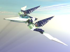 Updated Arwing by shelbs2